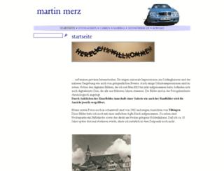 martinmerz.de screenshot