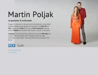 martinpoljak.net screenshot