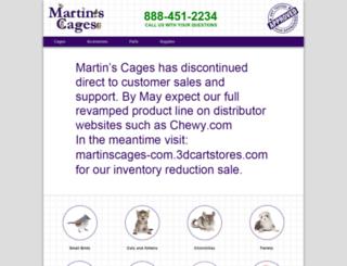 martinscages.com screenshot