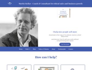 martinstellar.com screenshot