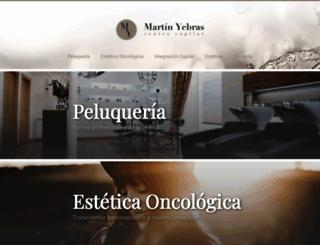 martinyebras.com screenshot