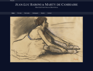 martydecambiaire.com screenshot