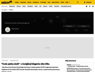 martynka78.salon24.pl screenshot