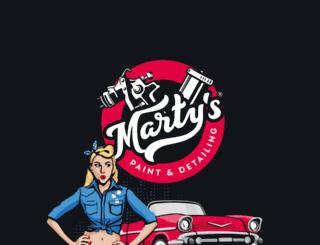 martys.cz screenshot