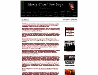 martystuart.com screenshot