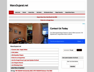 marugujarat.net screenshot