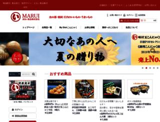 marui-g.co.jp screenshot