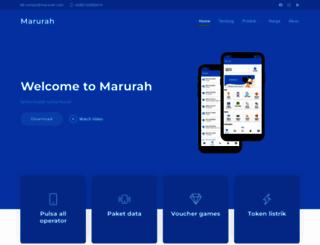 marurah.com screenshot