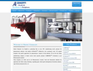 marutichemicals.com screenshot