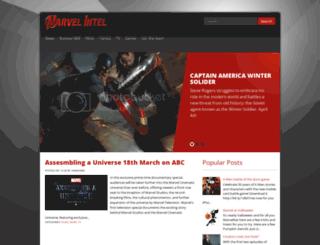 marvelintel.blogspot.co.uk screenshot