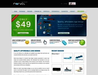 marvellogodesigns.com screenshot