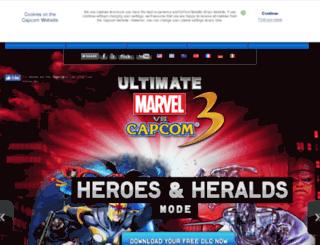 marvelvscapcom3.com screenshot