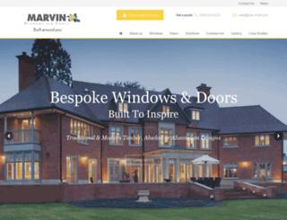 marvin-architectural.co.uk screenshot