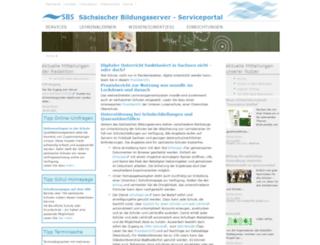 marvin.sn.schule.de screenshot