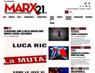 marx21.it screenshot