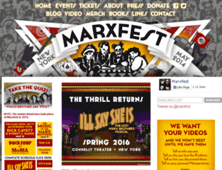marxfest.com screenshot