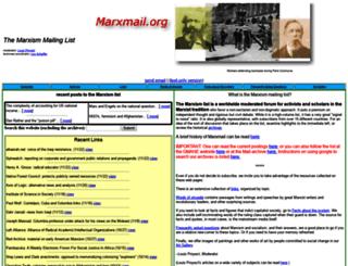 marxmail.org screenshot