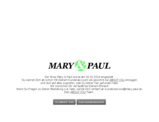 maryandpaul.de screenshot