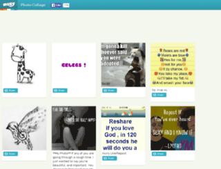 maryangelacoronado.muzy.com screenshot