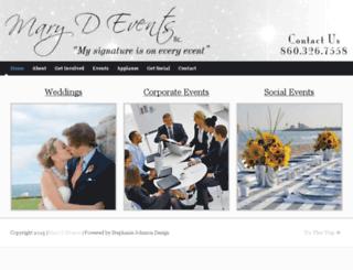 marydevents.com screenshot