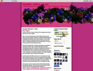 maryellenandjulianna.blogspot.fr screenshot