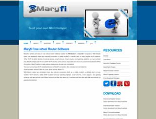 maryfi.com screenshot