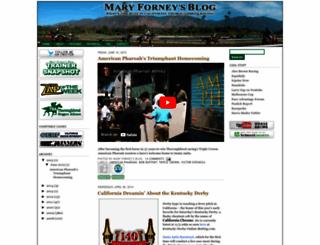 maryforney.blogspot.com screenshot