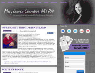 marygomezchambers.com screenshot
