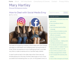 maryhartley.com screenshot