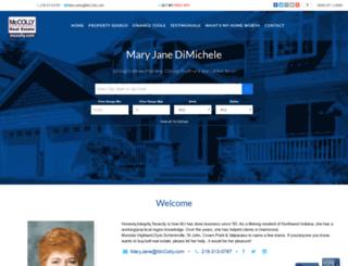 maryjane.mccolly.com screenshot
