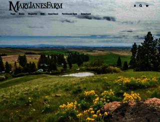 maryjanesfarm.org screenshot