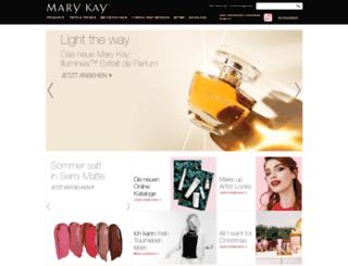 marykay.ch screenshot