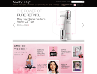 marykay.co.uk screenshot