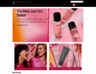 marykay.com screenshot