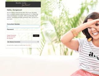 marykayintouch.com screenshot