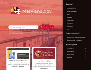 maryland.gov screenshot