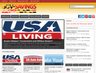 maryland.govsavingsblog.com screenshot