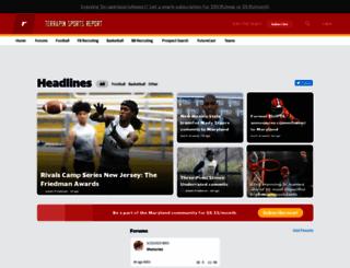 maryland.rivals.com screenshot