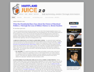 marylandjuice.com screenshot