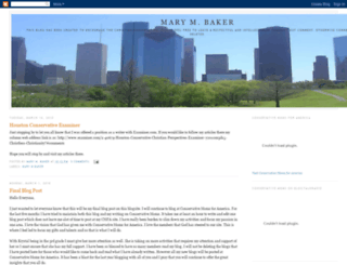 marymbaker.blogspot.com screenshot