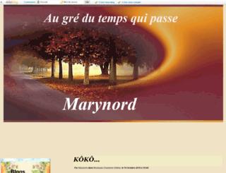 marynord.eklablog.com screenshot