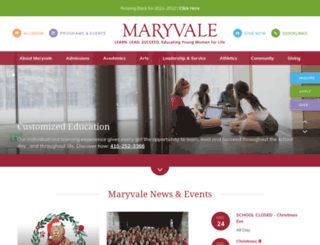 maryvale.com screenshot