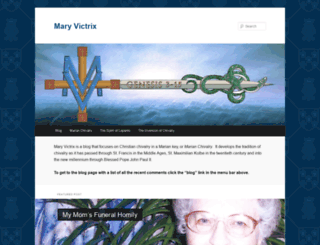 maryvictrix.com screenshot