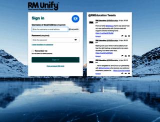 marywebb.rmunify.com screenshot