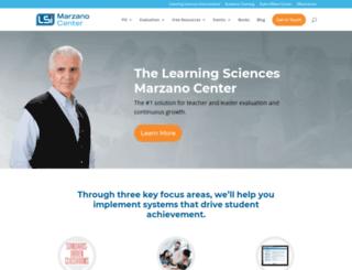 marzanocenter.com screenshot