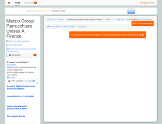 marziogroupparrucchi.taglioecolore.it screenshot