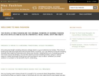 mas-fashion.com screenshot