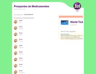 mas-prospectos.farmaceuticos.tel screenshot