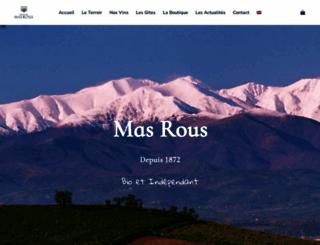 mas-rous.com screenshot