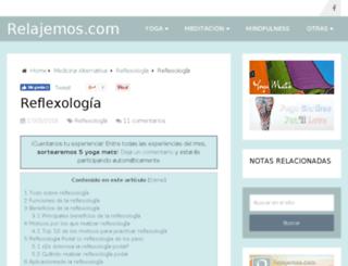masaje-reflexologia.com.ar screenshot